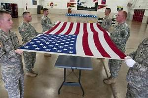 Honor guard ceremonies pay tribute to fallen veterans