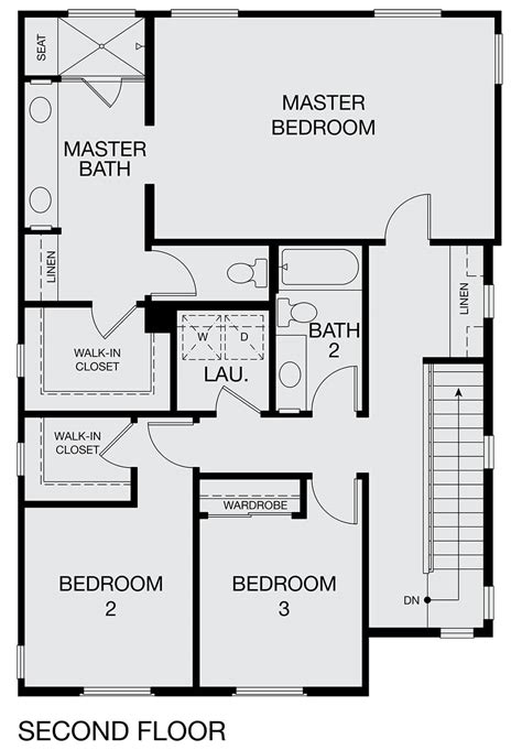 Master Bedroom Plans With Bath by Walk Through Robe To Ensuite Plan2a Master Bedroom With