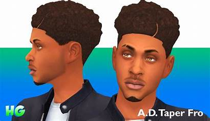 Taper Afro Fro Haircut Maxis Match Anthony