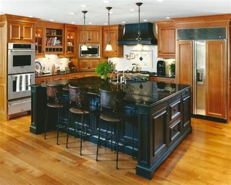kitchen with black island black kitchen island ideas pictures remodel and decor 6495
