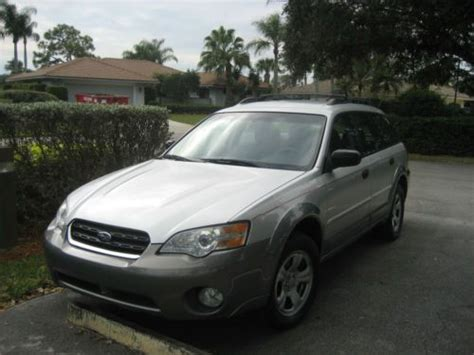 Find Used 2007 Subaru Legacy/outback 2.5i Limited Wagon 4