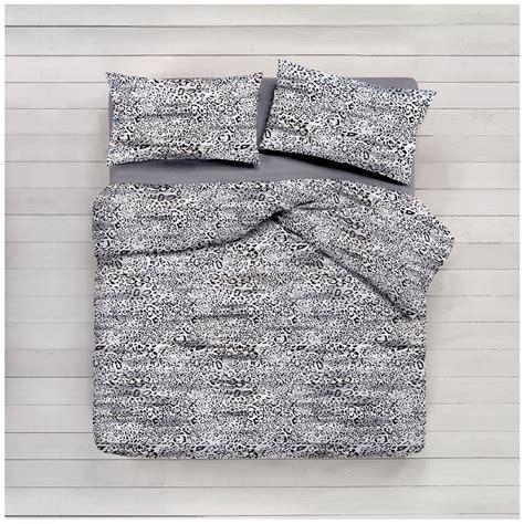 completo lenzuola leopardato nero cose  casa  mondo  accessori  la casa