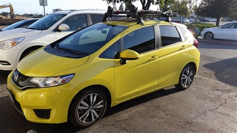 Fit's are going to be owned by outdoors type people. Yakima Roof Rack Now Available - Unofficial Honda FIT Forums