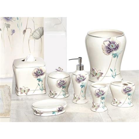 creative bath garden gate  piece ceramic bath accessory