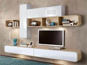awesome deco mur tv ideas ridgewayngcom ridgewayngcom With idee deco cuisine avec armoire style scandinave