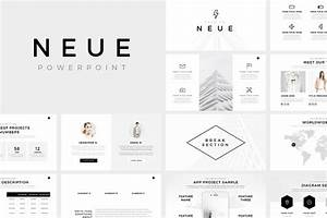 Neue minimal powerpoint template presentation templates creative market for Minimal powerpoint template