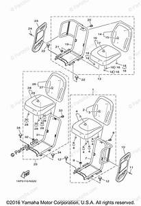 Yamaha Side By Side 2016 Oem Parts Diagram For Seat