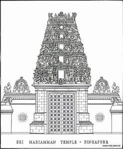 File:SriMariammanTemple-Singapore-drawing-SimonFieldhouse ...
