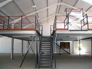 storage mezzanine floors for commercial industrial With mazzine floor