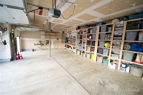 Garage Organization Reveal  Infarrantly Creative
