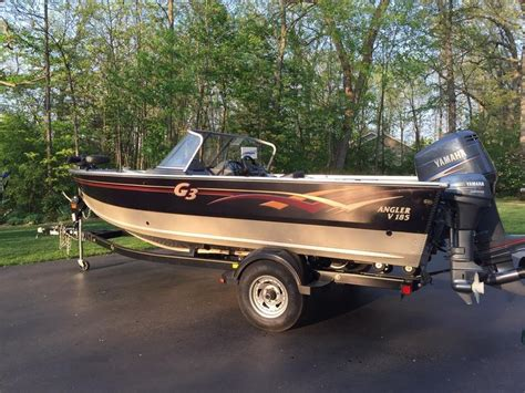 G3 Boats For Sale Wisconsin by G3 Angler V185 Aluminum Boat
