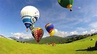 2014-06-01 鹿野高台熱氣球縮時 - YouTube