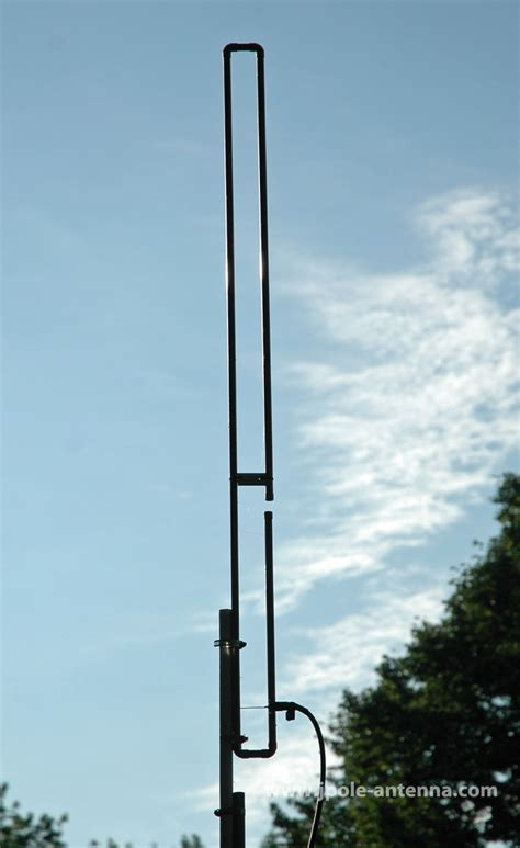2 meter vhf slim jim ham radio j pole base antenna 144 148mhz ebay