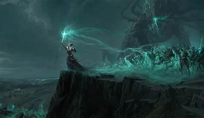 Necromancer Undead Sorcerer Warrior