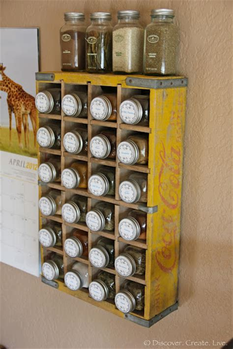 Spice Rack Storage System by Craftionary