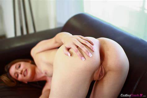Blond Legged Sophia Wilde Getting On The Casting Couch
