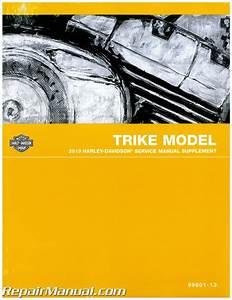 2013 Harley Davidson Trike Motorcycle Service Manual