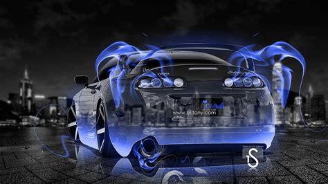 Toyota Supra Fire Crystal Car 2013