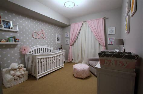 alexis pink  grey nursery project nursery