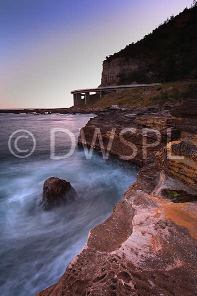 View Of Sea Cliff Bridge From Coalcliff Beach Reserve