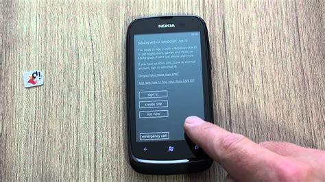 nokia lumia 610 reset youtube
