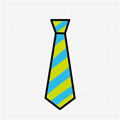 Tie Clipart Clip Cartoon Striped Clipartlook Carto