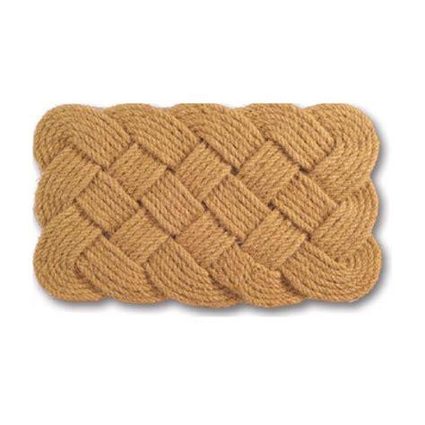 Braided Doormat by Rope Coir Braided Door Mat 30 X 18 13308517