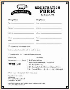 printable registration form template With google forms templates registration