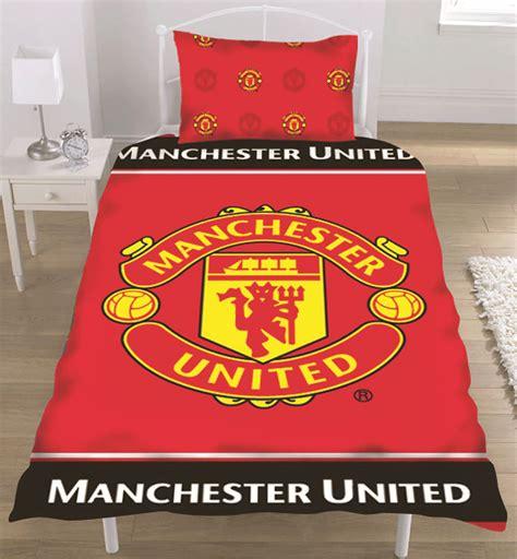 manchester united football club man utd fc single duvet