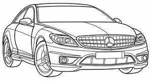 mercedes cl class coloring page teacher stuff With mercedes benz s cl