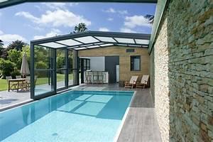 Fabriquer Un Abri De Piscine : abri piscine haut adoss accol mod les t lescopiques ~ Zukunftsfamilie.com Idées de Décoration
