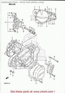 Suzuki Rm250 1989-1992  Usa  Crankcase Cover