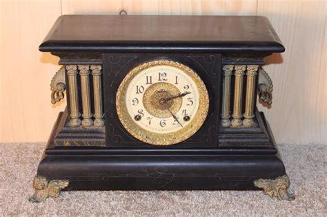 Mantle L Model 23 by Antique Ingraham 8 Day Gonging Mantle Clock 1902
