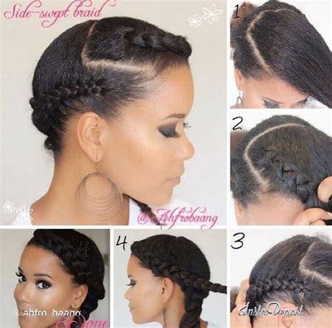 Protective styles for natural hair ! I can't seem to