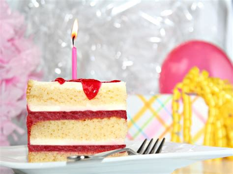 Birthday Cake Slice Candle  Birthday Cakes With Name And