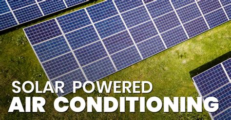 run air conditioning solar power tiny life