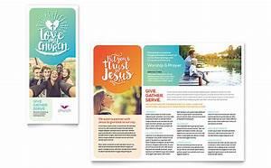 church brochure template design With church brochures templates
