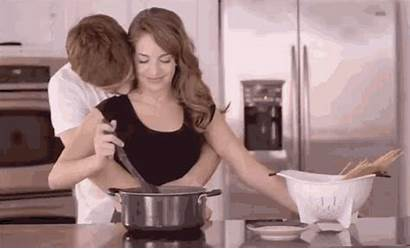 Cooking Couple Fun Eating Gifs Couples Cook