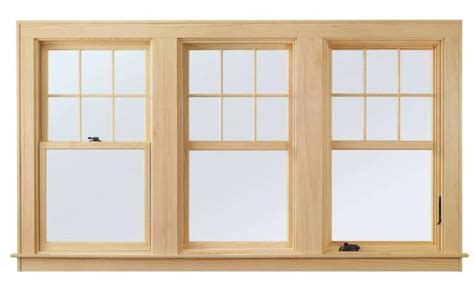 andersen  series windows feature common site lines  double hung picture  casement