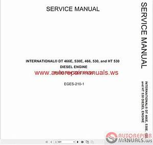 International 365  444  466  530 Service Manuals