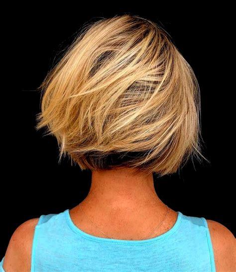 trend der bob frisuren  fur dickes haar