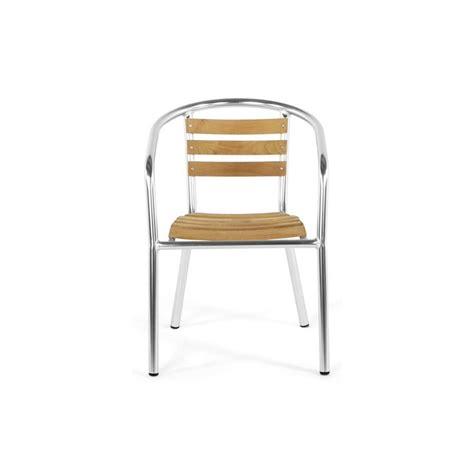 chaise de jardin bois chaise de jardin aluminium bois
