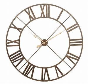 Horloge Murale Chiffre Romain : catgorie bibelot du guide et comparateur d 39 achat ~ Teatrodelosmanantiales.com Idées de Décoration