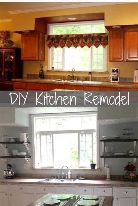 Kitchen Cabinet Remodel Diy by Diy Farmhouse Kitchen Remodel Overthrow Martha