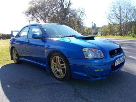 Rally Blue Wrx by 2006 55 Subaru Impreza 2 0 Wrx Turbo Uk300 Edition In