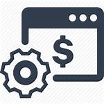 Icon Accounting Financial Finance Icons Banking Transaction