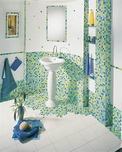 Badezimmer Mit Mosaik Gestalten : wandgestaltung f r das badezimmer bilder ideen ~ Buech-reservation.com Haus und Dekorationen