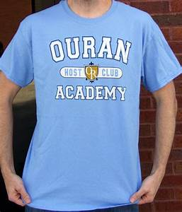 Ouran High School Host Club Academy Cosplay T-Shirt Anime ...