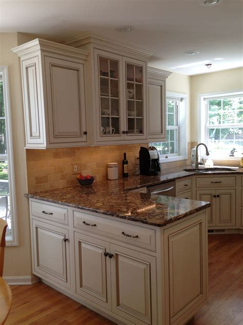 cambria cabinets custom inset door cabinets in antique white with glaze