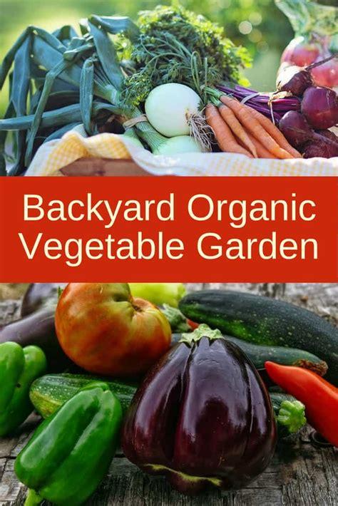 How To Start An Organic Vegetable Garden In Your Backyard by Backyard Organic Vegetable Garden